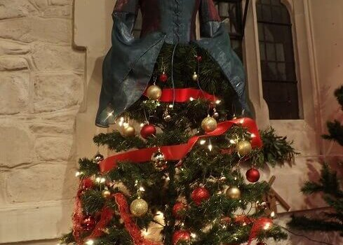 Christmas Tree with a Dressmakers Twist