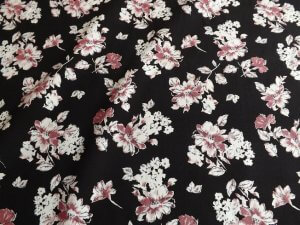 Floral Stretch Fabric