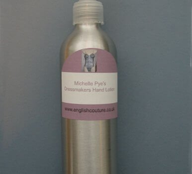Dressmakers Hand Lotion Discontinued