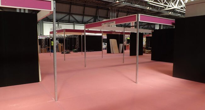 Have you ever wondered what the NEC looks like before we set up?