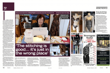 English Couture Company Featured on Leicester Mercury
