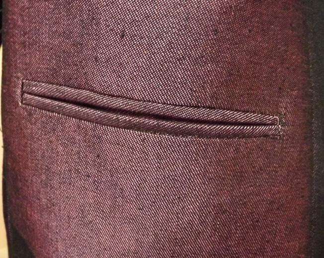 Jacket pocket small