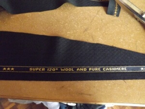 Super 120's Speed tailoring cloth